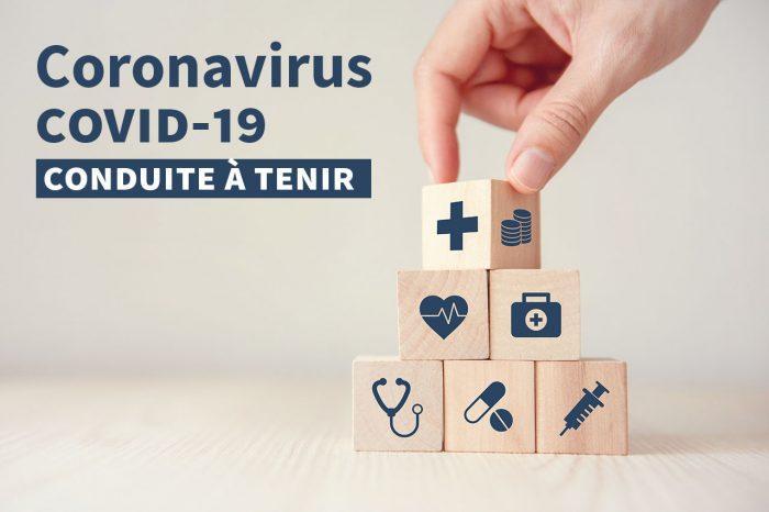 [Màj] Coronavirus · informations essentielles