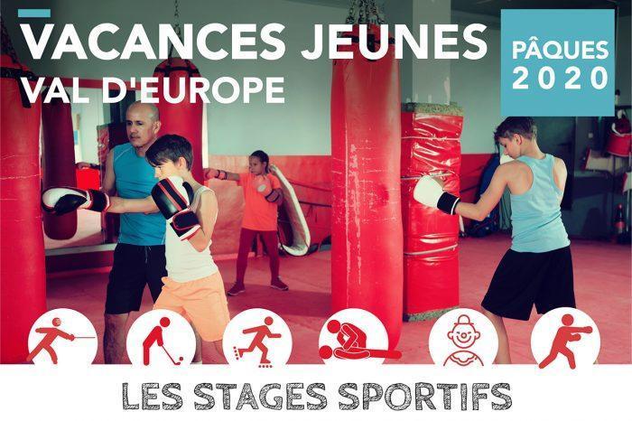 Vacances jeunes à Val d'Europe · Stages Pâques 2020