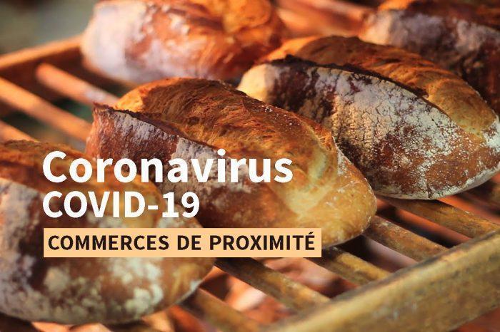 Coronavirus · accès aux commerces de proximité