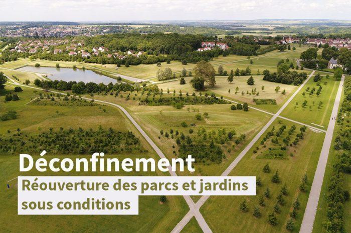 Déconfinement · réouverture des parcs et jardins