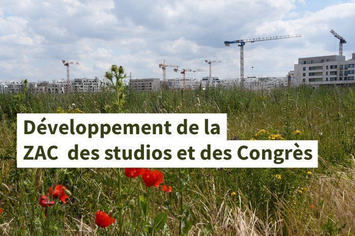 STOP au développement effréné de la ZAC des Studios et des Congrès